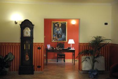 hall hotel rocchi a Valmontone